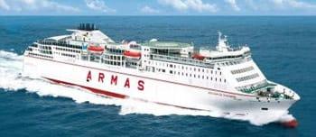 naviera armas ferries informaci n de traves as en ferry