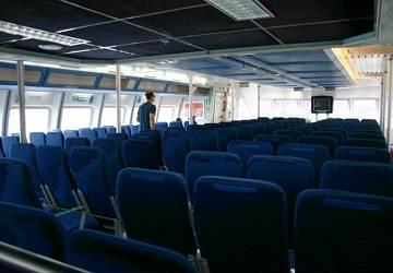 Rese a y gu a del ferry balearia maverick dos for Oficinas balearia