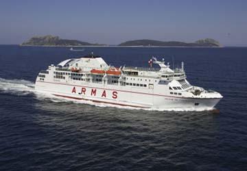 naviera armas reservas horarios y billetes de ferry