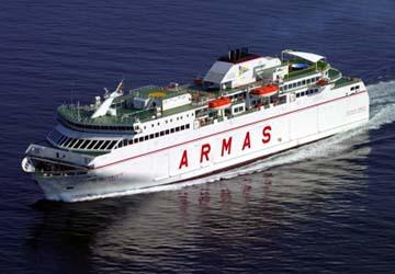Naviera armas reservas horarios y billetes de ferry for Horario de oficina naviera armas